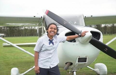 Garuda Rekrut Dua Pilot Wanita Asal Papua