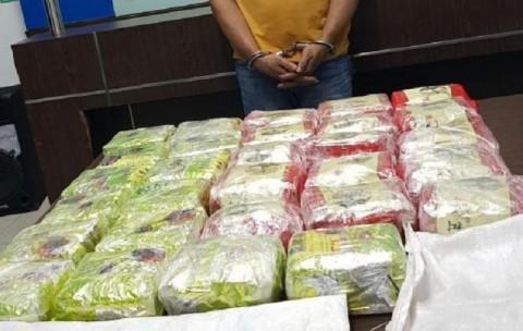 Penyelundupan 29 Kg Sabu Asal Malaysia Digagalkan BNN