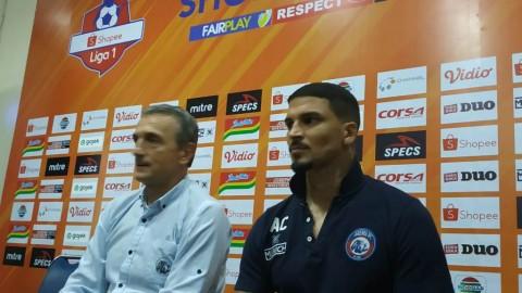 Arthur Cunha Dedikasikan Gol ke gawang Persib untuk Ayah