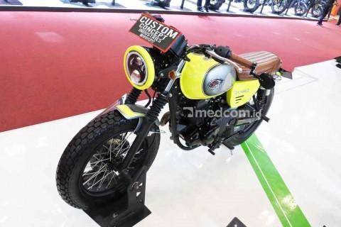 Kawasaki W175 Tampil Ngejreng ala Custom Concept Industries