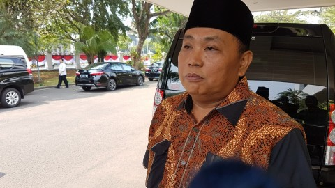 Waketum Gerindra Makan Siang Bareng Moeldoko di Istana