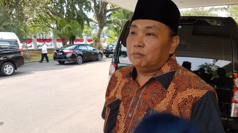 Gerindra Deputy Chairman Meets with Moeldoko at Palace