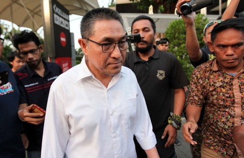 Legislator PAN Sukiman Ditahan KPK