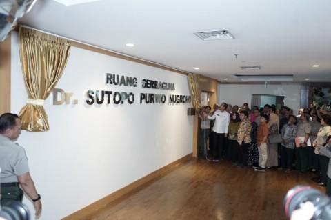 BNPB Resmikan Ruangan Sutopo