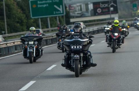 B'Brothers Indonesia Touring Lintas Negara Sejauh 2572 Km