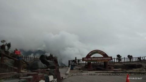 Mount Tangkuban Parahu's Alert Status Raised