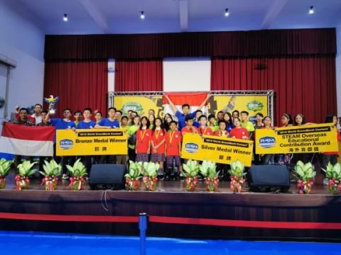 Indonesia Juara Dua Kontes Robot di Taiwan