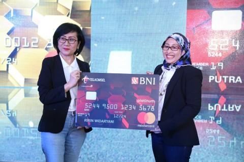 Gandeng BNI, Telkomsel Luncurkan Kartu Kredit