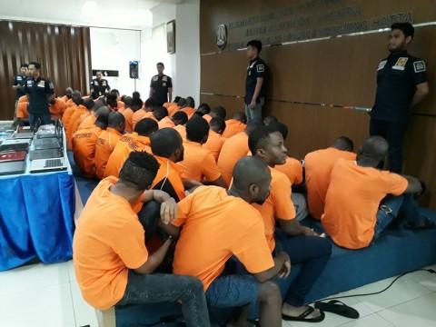 Imigrasi Bandara Soetta Tangkap 53 WNA