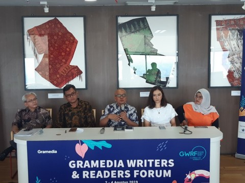 Sapardi Djoko Damono and Gundala Putra Petir to Enliven GRW 2019