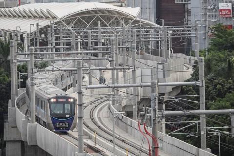 Layanan MRT Sempat Terhenti saat Gempa Banten