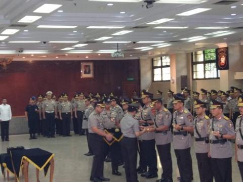 Polri Merotasi Jabatan Perwira Tinggi