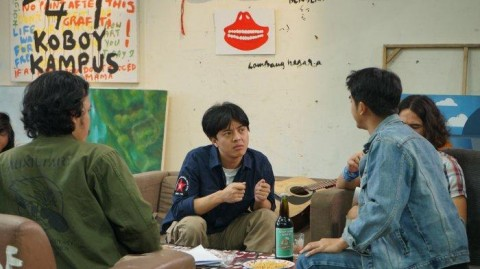 Pidi Baiq Ingin Ajak Orang Bernostalgia lewat Film Koboy Kampus