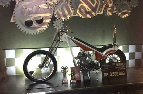 Custom Bike 'Berkepribadian Ganda' ini, Juarai SM Palembang