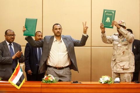 Deklarasi Konstitusional Sudan Resmi Ditandatangani