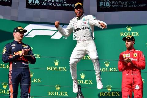 Salip Verstappen, Hamilton juara GP Hungaria