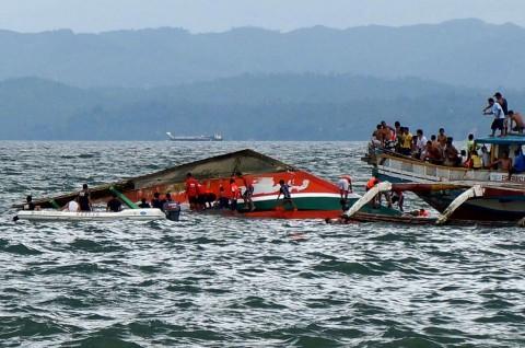 Korban Tragedi Tiga Feri Filipina Jadi 31 Orang