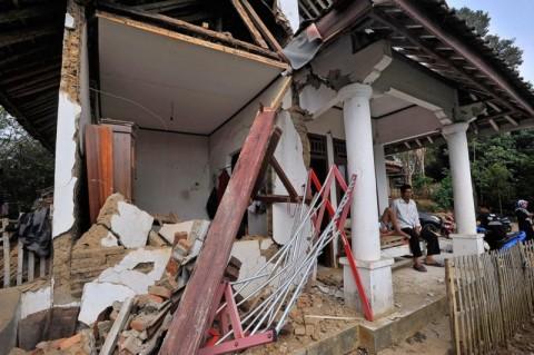 Puluhan Rumah di Cianjur Rusak Akibat Gempa Banten