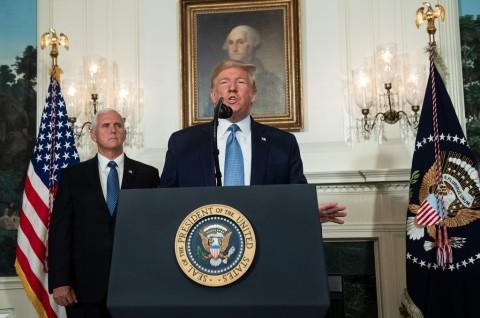 Trump Kecam Rasisme dan Supremasi Kulit Putih