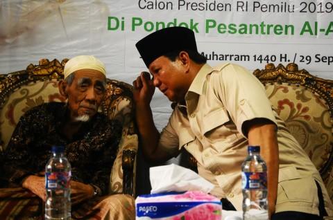 Prabowo Terkenang Pesan Mbah Moen