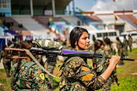 AS Coba Cegah Operasi Militer Turki atas Kurdi di Suriah
