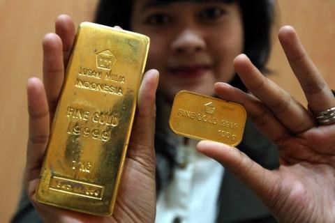 Lanjutkan Penguatan, Emas Antam Dibanderol Rp753 Ribu/Gram