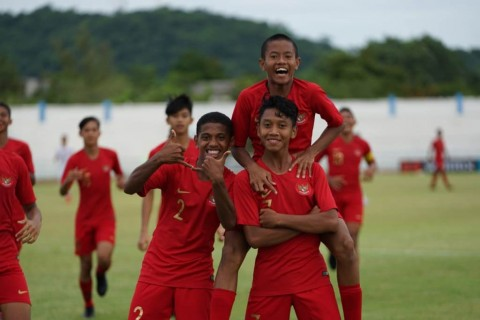 Susunan Pemain Timnas Indonesia U-15 vs Thailand U-15
