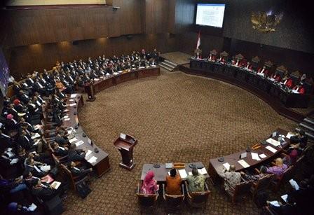 MK Tolak Gugatan NasDem Soal Surat Suara di Kuala Lumpur