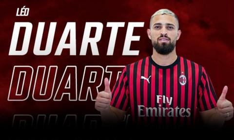 AC Milan Resmi Boyong Leo Duarte dari Flamengo