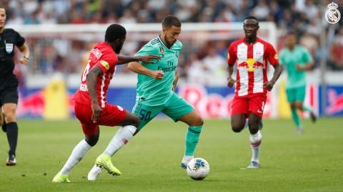 Hazard Cetak Gol Debut, Madrid Menang di Pramusim