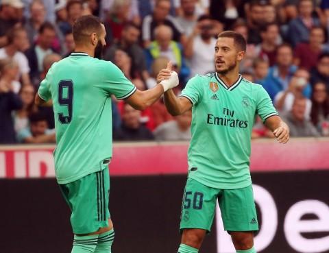 Komentar Hazard Setelah Cetak Gol Perdana bagi Real Madrid