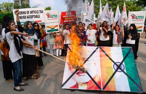 Inggris Khawatirkan Konflik yang Terjadi di Kashmir