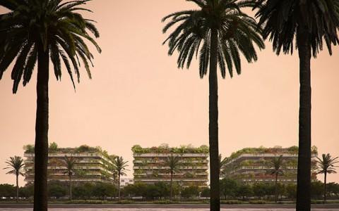 Apartemen Berkonsep Hutan Vertikal di Ibu Kota Baru Mesir