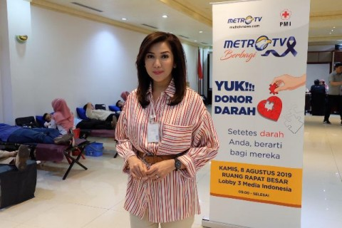 Metro TV Gelar Donor Darah