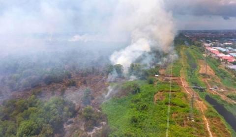 48 Titik Api Terdeteksi di Malaysia-Indonesia