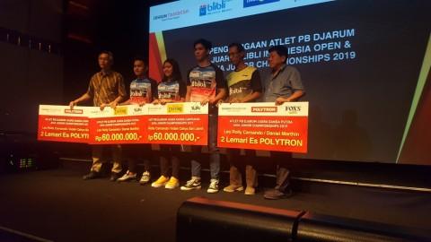 Juara Indonesia Open, Kevin Sanjaya Diguyur Bonus