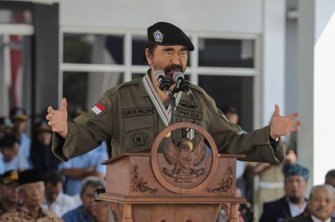 NasDem Apresiasi Kehadiran Prabowo di Kongres PDIP