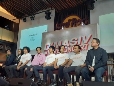 Konser Tunggal Jadi Momen Emosional bagi D'Masiv