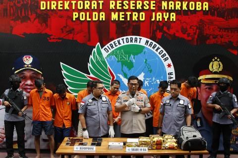 Penyelundupan 10 Kg Sabu Jaringan Malaysia-Jakarta Digagalkan