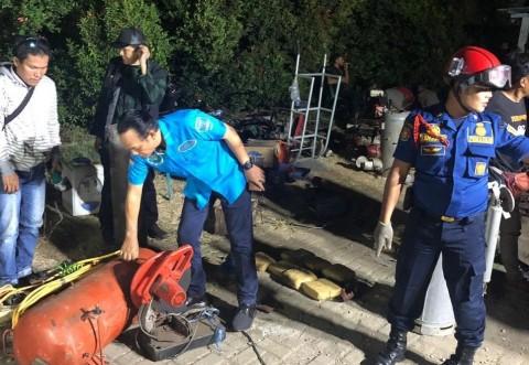 BNN Sita Ratusan Kilogram Ganja di Kramat Jati