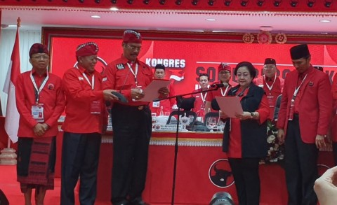 Megawati Resmi Kembali Memimpin PDIP