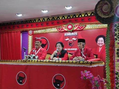 Megawati Pastikan Tak Ada Posisi Ketua Harian
