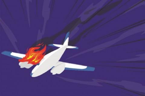 Pesawat Jatuh di Philadelphia, Tiga Orang Tewas