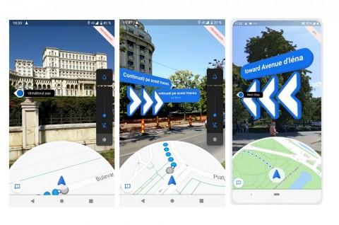 Navigasi Baru Google Maps AR Tiba di iOS dan Android