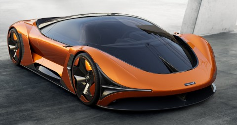 McLaren Concept E-Zero yang Ramah Lingkungan