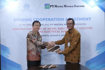 PTPP Jadi Kontraktor Proyek Smelter Nikel di Sulteng