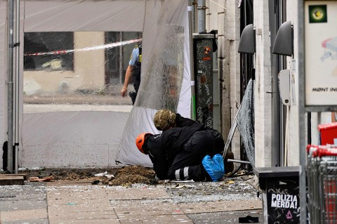 Ledakan Guncang Kantor Polisi Denmark