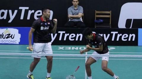 Ganda Putra Indonesia Lolos ke Final Hyderabad Open 2019
