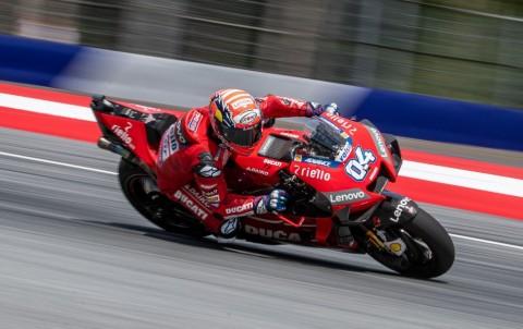 Duel Sengit dengan Marquez, Dovizioso Juara MotoGP Austria