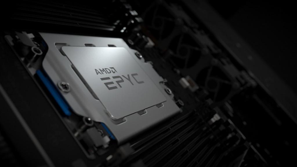 Prosesor AMD EPYC.